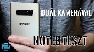 S8+ és egy kis plusz   Samsung Galaxy Note8 teszt