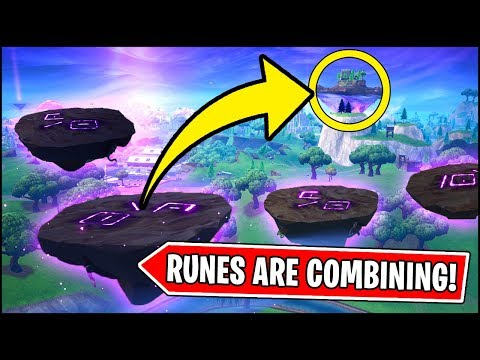 THE MINI RUNES ARE MOVING AND GOING TO COMBINE *NOW* in Fortnite thumbnail