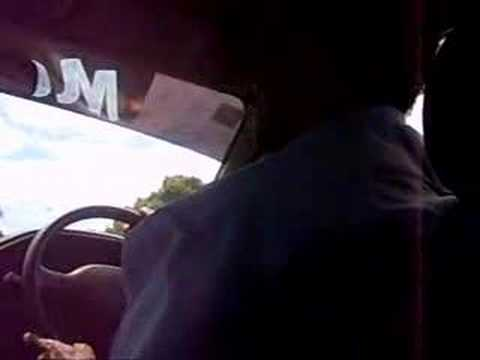 crazy taxi driver in fiji island