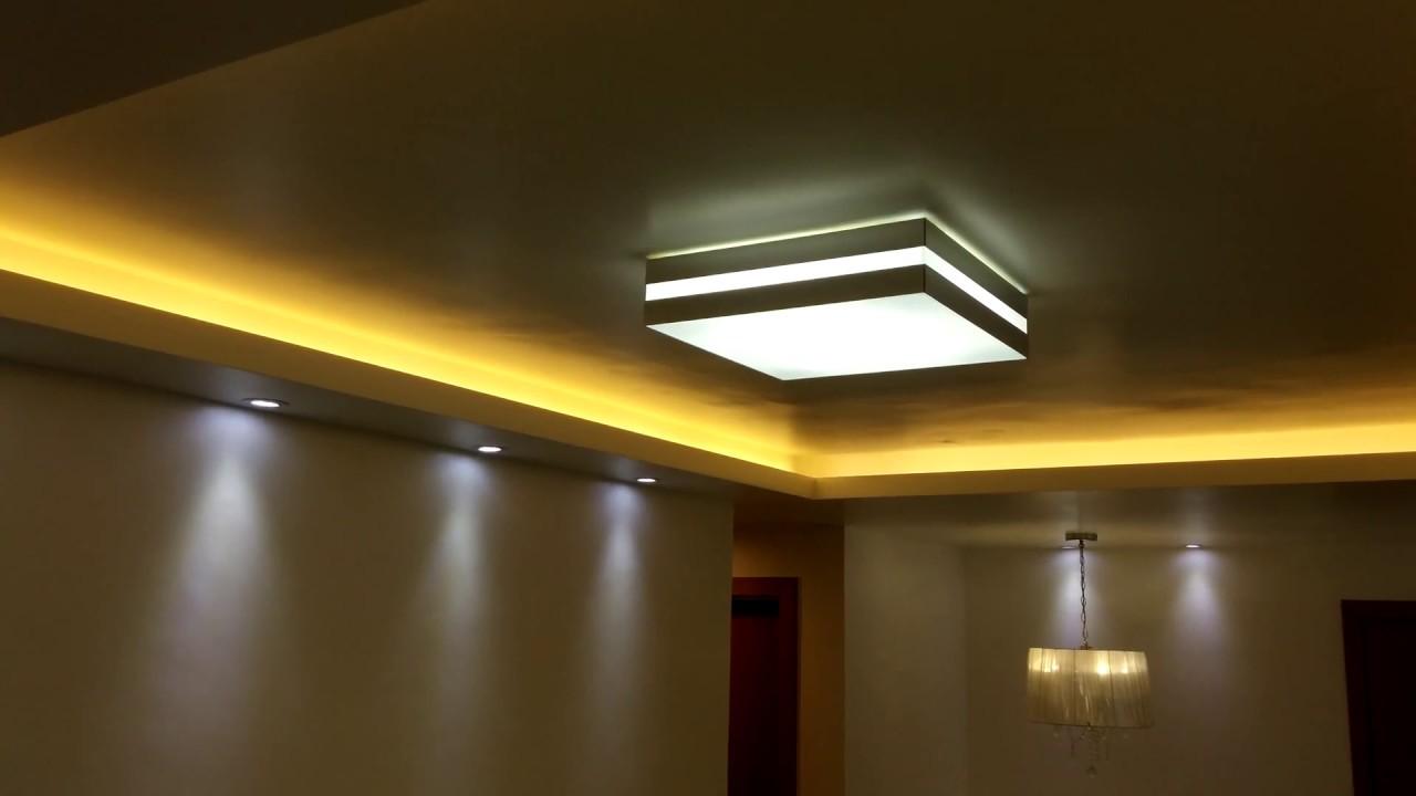 Iluminacao Para Sala De Estar E Tv ~ DICAS DE ILUMINAÇÃO Sala de Estar, Jantar e Home Theater  YouTube