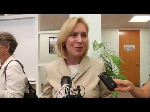 United States Senator Kirsten Gillibrand Visits Clarkson University