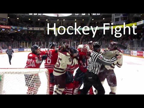 OHL Hockey Fight - Kyle Keyser - Peterborough Petes @ Oshawa Generals - Feb 1, 2019