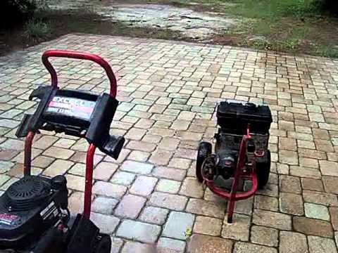 Excell 2500 Pressure Washer Tyres2c