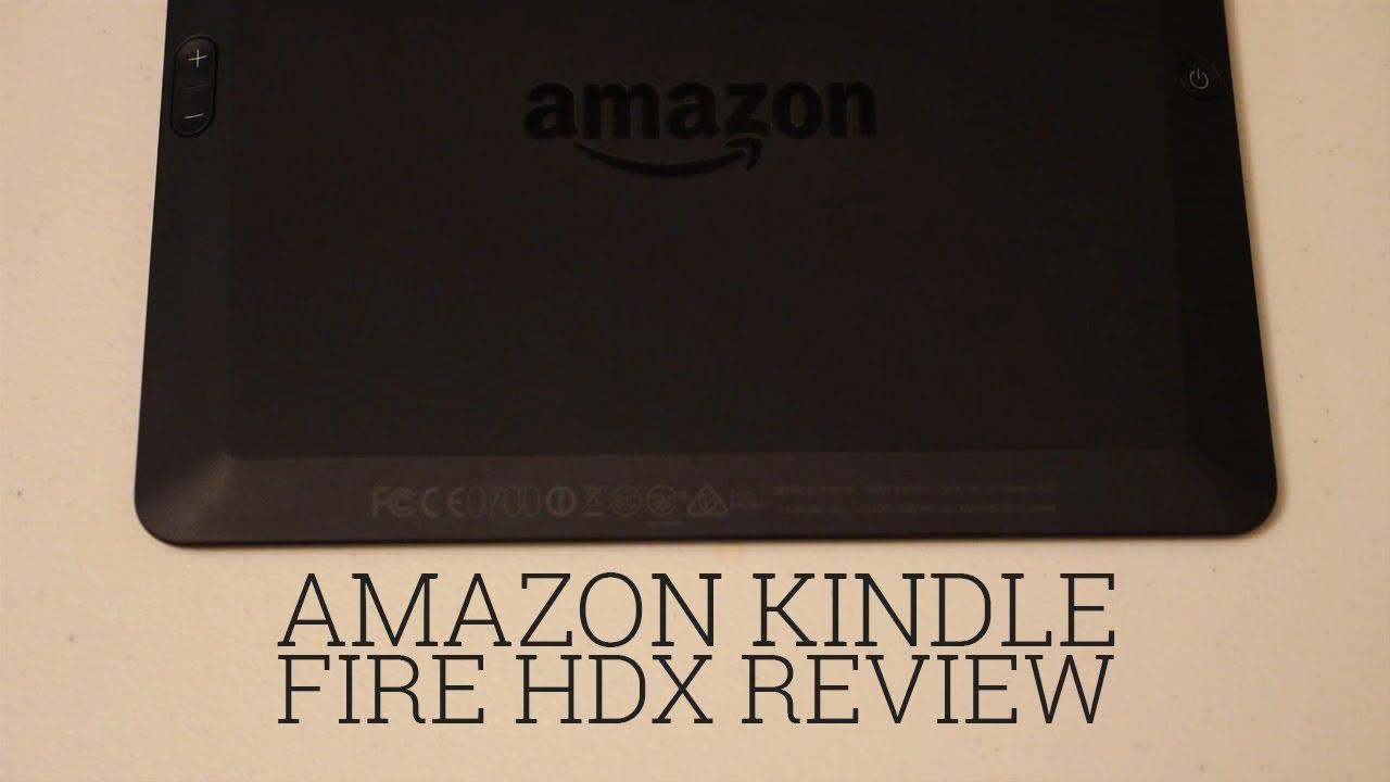 Amazon Kindle Fire HDX 40 review