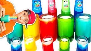 Color jelly cup 알록달록 컵 안에는 무엇이 있을까요 Mukbang 먹방 MUKBANG 로미유스토리