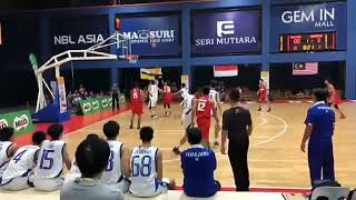 Asean School Games Malaysia 2018 Thailand vs Indonesia Basketball..