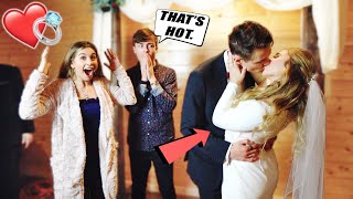 GOING TO ANOTHER YOUTUBER'S WEDDING... (Cute Kiss)