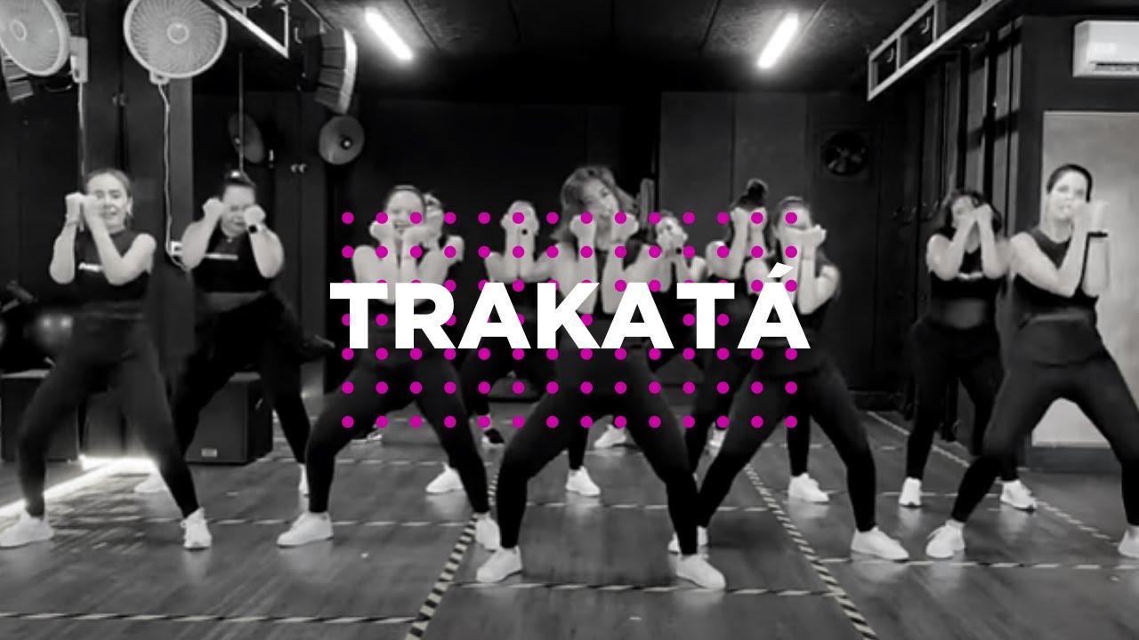 TRAKATÁ  - PTAZETA, FARINA, JUACKO- Coreo Oficial Dance Workout #trakata  #trakatachallenge