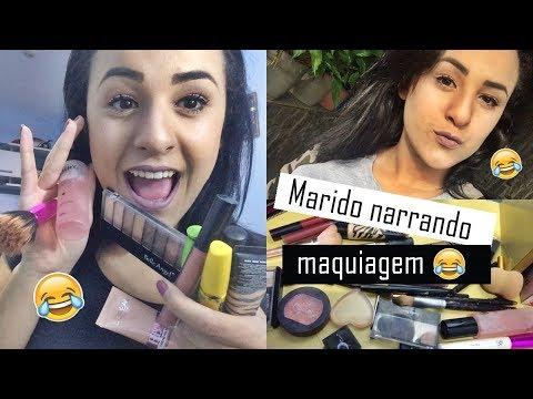 Mari Casou aos 17 - Marido narrando maquiagem (VÍDEO MAIS ENGRAÇADO DO CANAL)