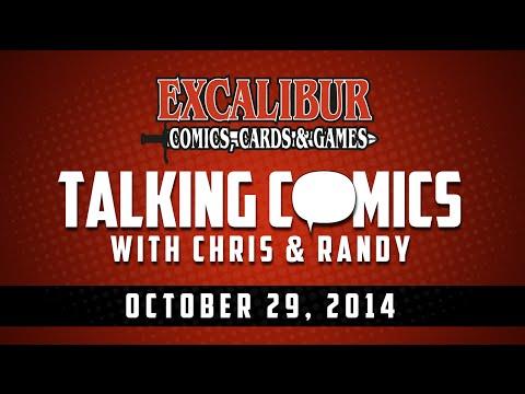 Talking Comics for 10.29.14 - Deathlok #1, Sonic Boom #1, Dark Gods #1, Rasputin #1 & More!