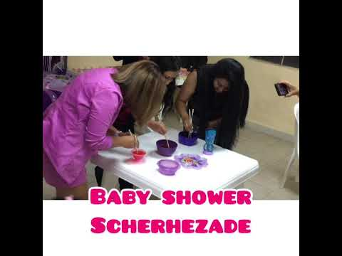 Baby shower Thania Scheherezade Cardona Blog