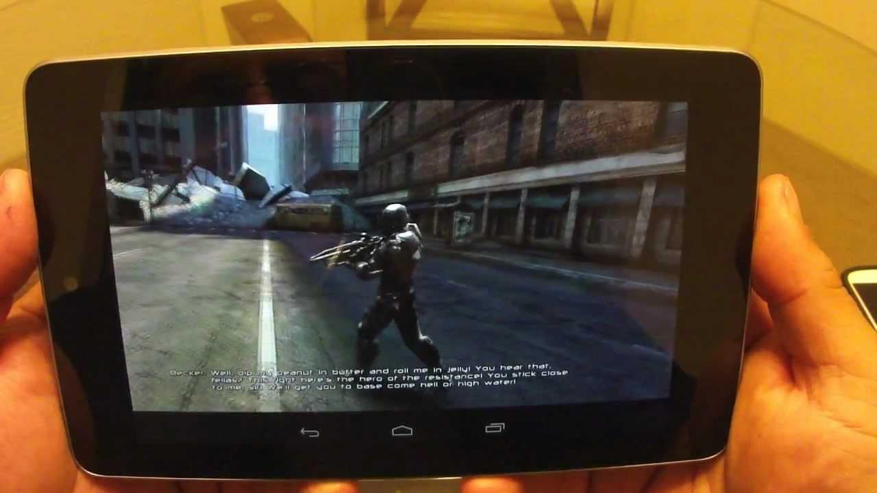 NOVA 3 Gameplay on Nexus 7 Tablet