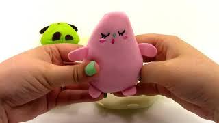 Cutie Fruities Minis Ароматные Плюшевые Фрукты Слепые Сумки Корзина Чашка Unboxing Игрушка Обзор By