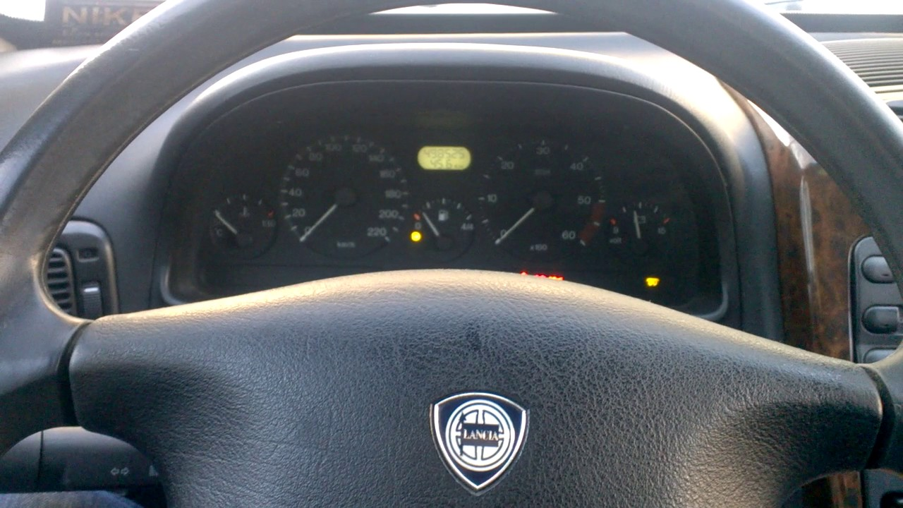 Lancia Kappa 2.4JTD Cold Start -20
