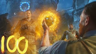 CLUTCH OF THE YEAR! DER EISENDRACHE ROUND 100 EASTER EGG SPEED RUN COMPLETE! (BLACK OPS 3 ZOMBIES)