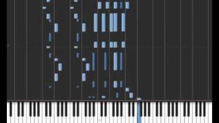 Charleston - Piano roll QRS #8691