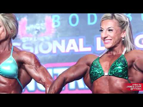 2019 IFBB Tampa Pro WOMENS BODYBUILDING (Prejudging and Evening Show)