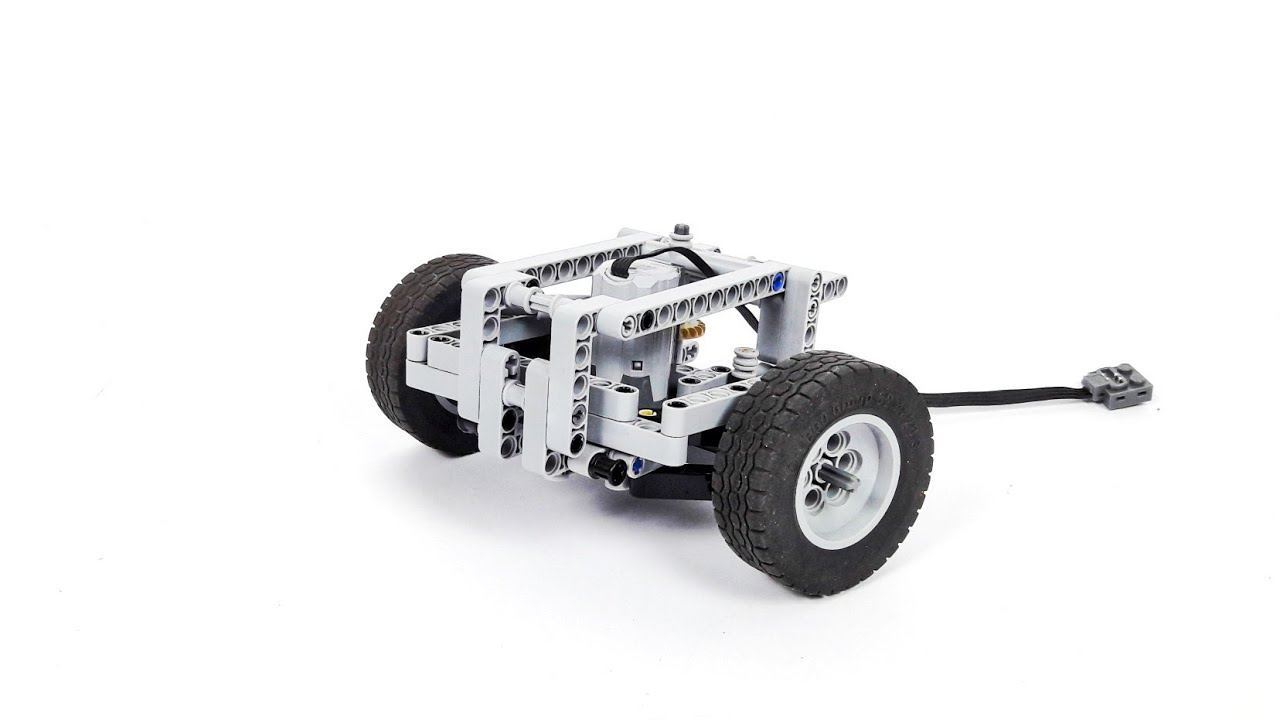 Lego Technic Steering Axle With Virtual Pivot Point Instructions