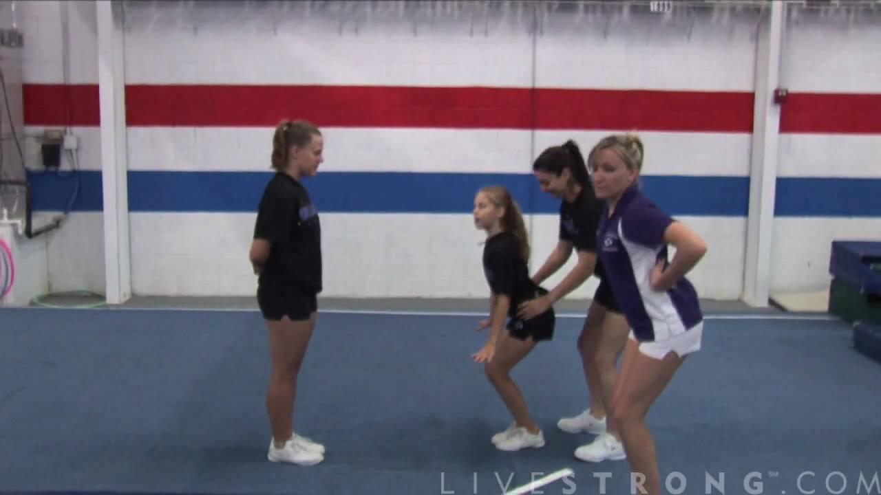 Download How to Do Basket tosses in Cheerleading