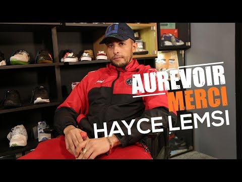 Youtube: HAYCE LEMSI – AUREVOIR MERCI
