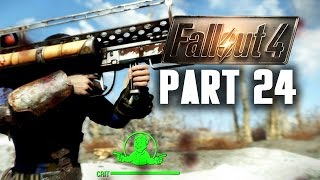 Fallout 4 Walkthrough Part 24 - USING A FATMAN PC Gameplay 60FPS