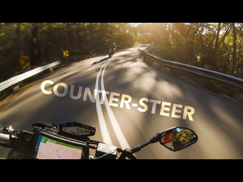 What is counter steering on a motorcycle and why you should know it