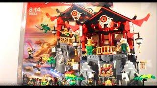 LEGO - Ninjago Temple Of Resurrection REVIEW! 70643!