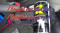 What I use to clean my car fuel Injectors / BG 44k Fuel System Cleaner