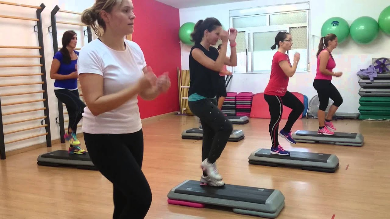 track step libre gimnasio fitsa sport club youtube