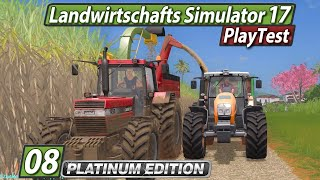LS17 Platinum 🚜 Schaufeln und CC Map ► #8 Landwirtschafts Simulator 17 deutsch PlayTest
