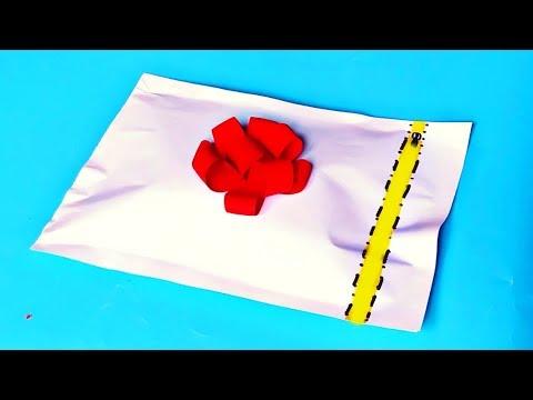Открываем Бумажные Сюрпризы. СУПЕР Новые Сюрпризы Из Бумаги спрятанные в конверте
