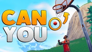 CAN YOU PLAY BASKETBALL | Fortnite Mythbusters