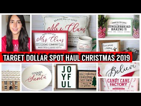 TARGET DOLLAR SPOT CHRISTMAS 2019 HAUL