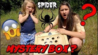 SPIDER SEARCHING with KAIA and SISSY! The TOYTASTIC Sisters. FUNNY SKIT. Family VLOG thumbnail
