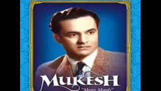 MUKESH- SONG OF UNRELISED  FILM CHAND GRAHAN MUSIC-JAIDEV  LYRICS-KAIFI AZAMI.TRACK-02wmv