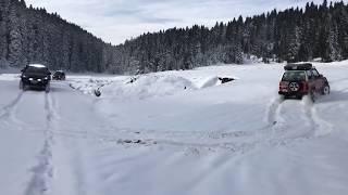 Suzukı Jımny & Daıhatsu Feroza & Lada Nıva & Ford Ranger & Suzukı Vıtara (Off Road Snow )