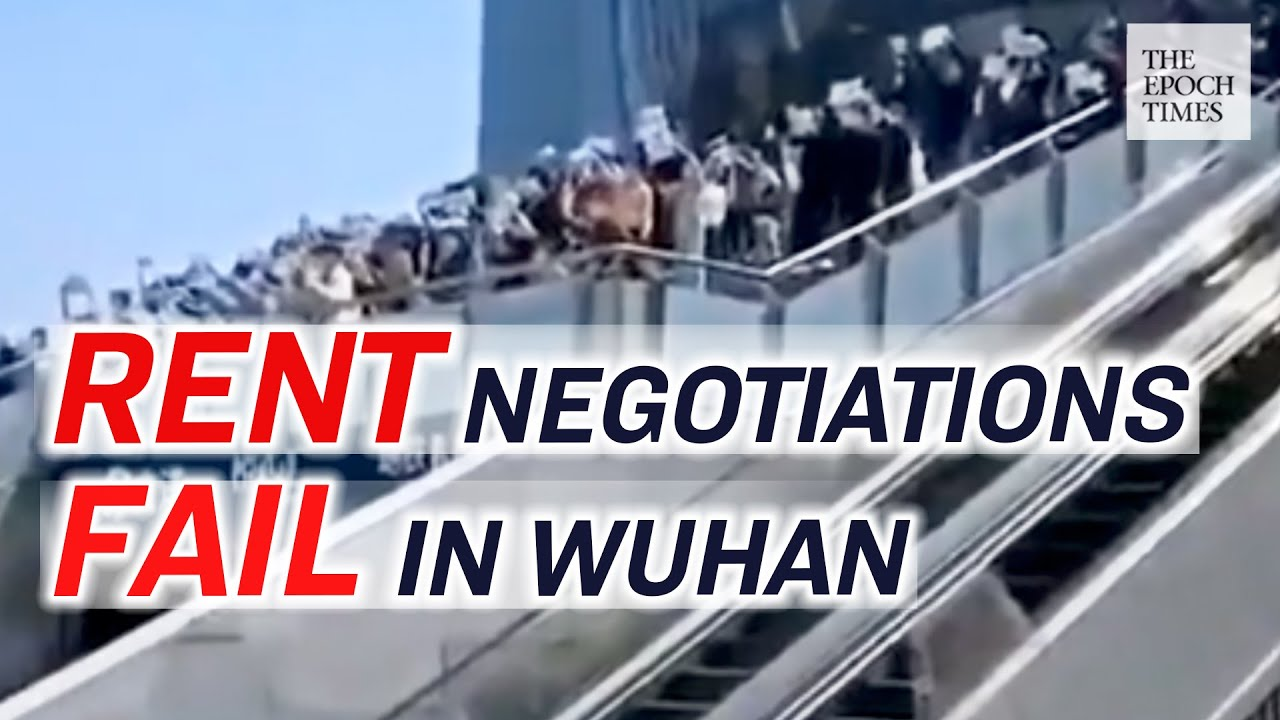 Wuhan's Popular Shopping Center Losing Nearly All Business Tenants |CCP Virus |COVID-19 |Epoch News