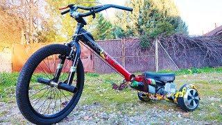 Como Hacer un Trike a Motor Casero | 2 Motores Electricos (Bicicleta BMX + Hoverboard)