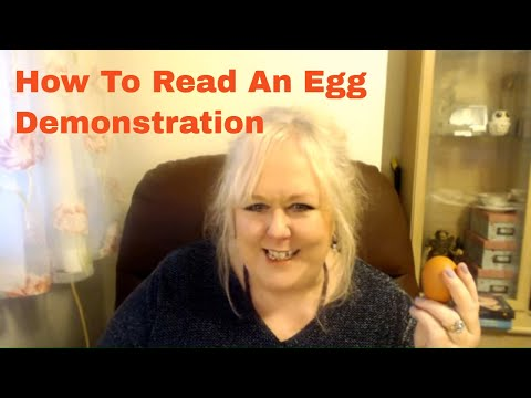 How To Read An Egg Demonstration | Psychic Egg Reading | Colette Clairvoyant