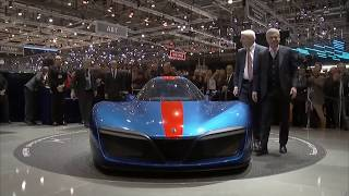 2019 Pininfarina H2 Speed Unveiled at the 2018 Geneva Motor Show