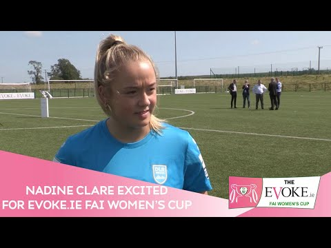 INTERVIEW | DLR Waves' Nadine Clare excited for Evoke.ie FAI Women's Cup