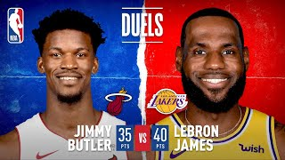 LeBron James And Jimmy Butler's EPIC Game 5 Duel | #NBAFinals