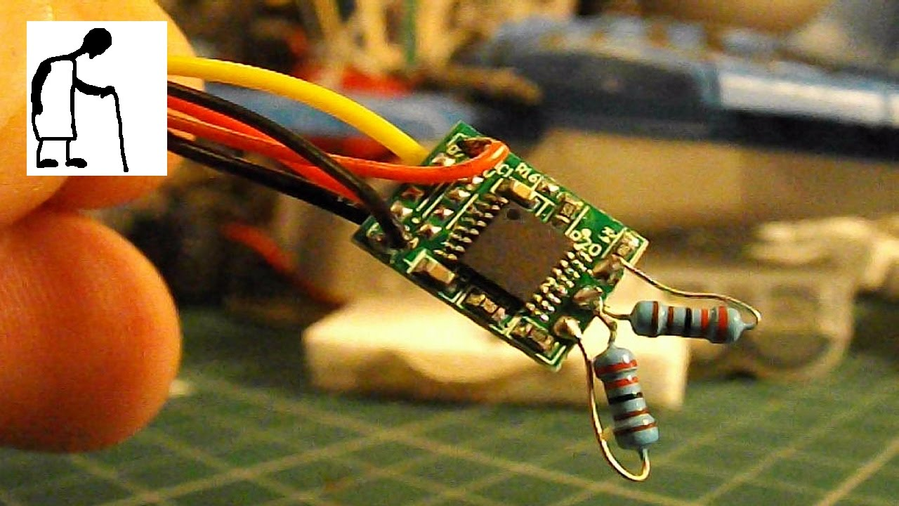 Servo Circuit Board As Mini Esc For A Small Dc Motor Youtube Schematic The Controller