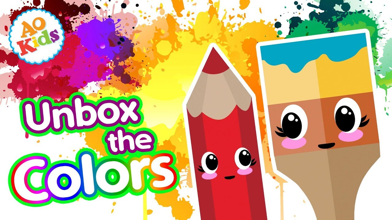 Unbox the Colors! | Learn the Colors | Kid's Learning Song