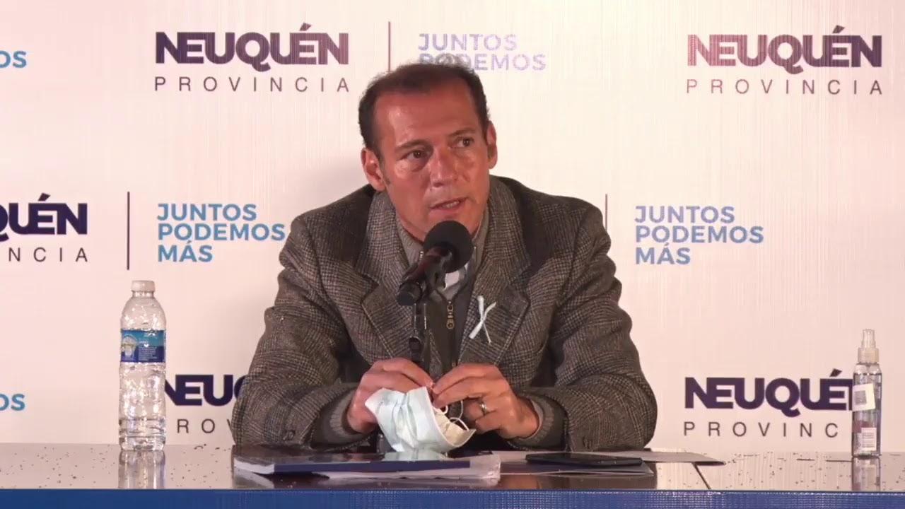 CONFERENCIA DE PRENSA GOBIERNO PROVINCIA DEL NEUQUEN