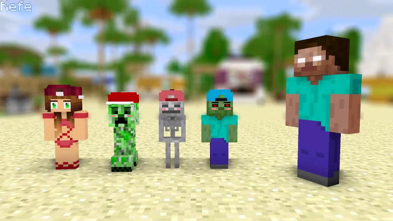 Mob Kids Life - Minecraft Animation