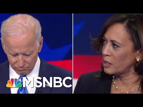Senator Kamala Harris Confronts Joe Biden Over Civil Rights | Velshi & Ruhle | MSNBC
