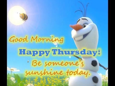*Happy Thursday Greetings, Quotes, Sms, Wishes Saying, E Card, Wallpapers,  Whatsapp Video