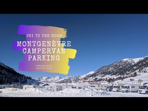 Montgenèvre Motorhome Ski Aire Tour.