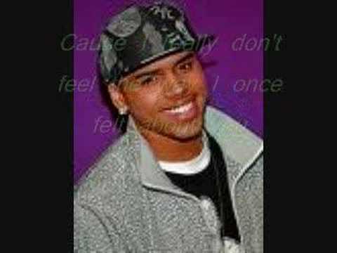 Chris Brown-Say goodbye